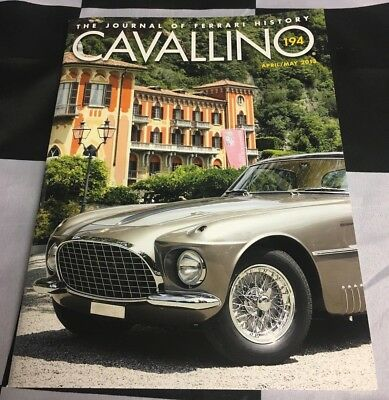 CAVALLINO FERRARI MAGAZINE APRIL MAY 2013 #194 FERRARI 250 EUROPA VIGNALE 0313