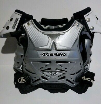 Acerbis Lady Fusion Motocross Chest~Spine Body Armour Made In Italy S Yth 12-14