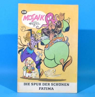 Mosaik 220 Digedags Hannes Hegen Originalheft | DDR | Sammlung original MZ 17