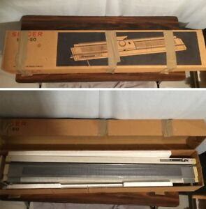 Singer 360 Knitting Machine with Ribbing Attachment