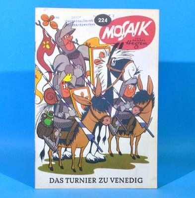 Mosaik 224 Digedags Hannes Hegen Originalheft | DDR | Sammlung original MZ 26
