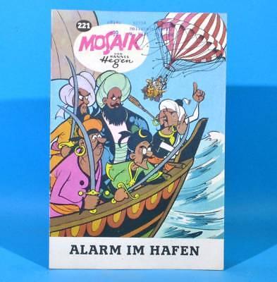 Mosaik 221 Digedags Hannes Hegen Originalheft | DDR | Sammlung original MZ 29