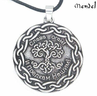 Tree Of Life Symbols (MENDEL Celtic Living Tree of Life Symbol Necklace Nordic Eternity Pendant Unisex )