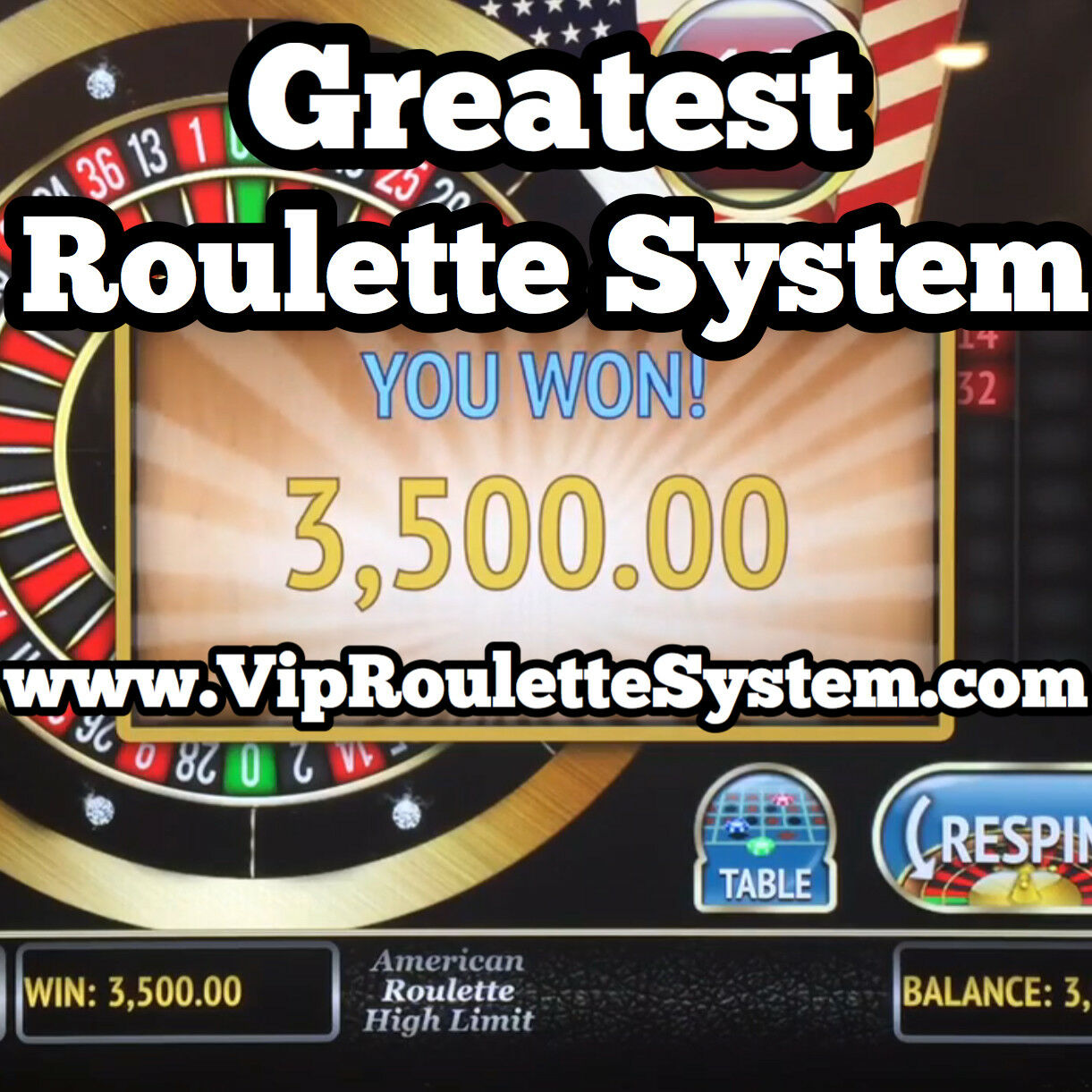 Roulette betting system 99.4 success rate