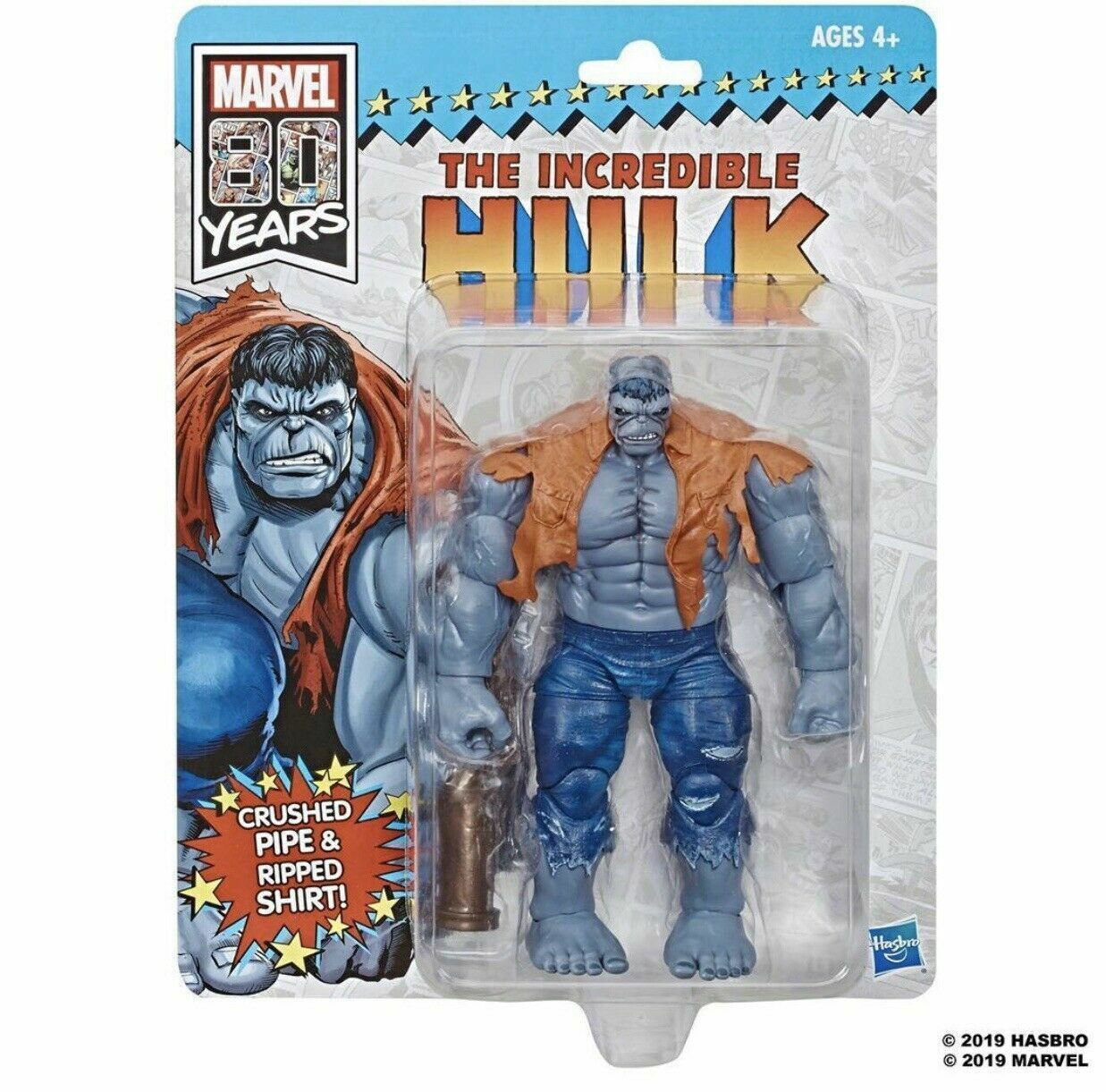 Marvel Select Ultimate Hulk Gray Action Figure USA In Stock