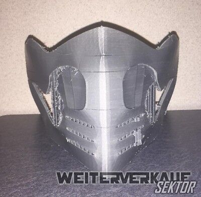 Scorpion Mask (3D Printed MKX Scorpion Mask (Defected) - NEEDS)