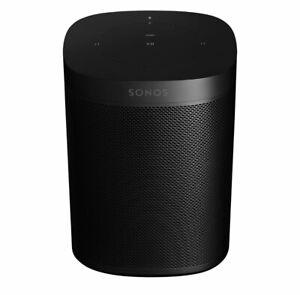 Sonos Play 1 One Black w/ Alexa Sonos Connect NEW