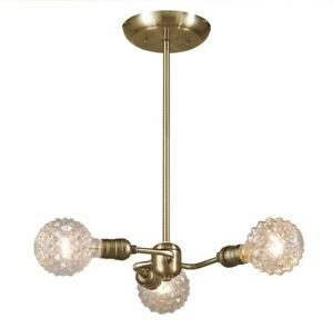 Pendant light / chandelier. Globe electric. Varys. BNIB