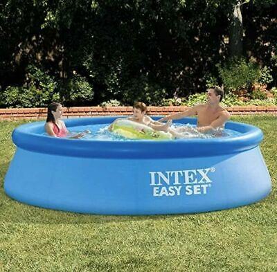"Intex 10' X 30"" Easy Set Pool Above Ground Swimming Pool - No Filter Pump"