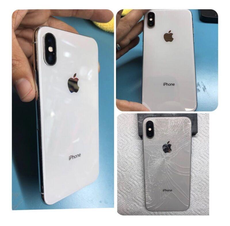 Iphone 8/8plus/x/xs Max/ Xr/xs Back Glass Repair Service Repair Mail-in Service