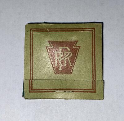 Antique / VINTAGE Pennsylvania Railroad Advertising Golf Tees MATCH BOOK NOS #4