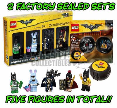 LEGO Batman Movie Toys r Us Bricktober set & Battle Pod 5004929 5004939 unopened