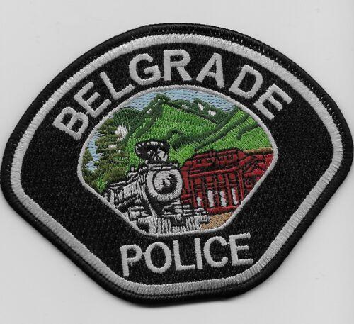 Train Belgrade Police State Montana MT