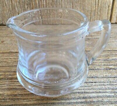 Vintage Glass Advertising Kellogg's Correct Cereal Creamer Milk Pitcher Jug
