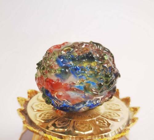 Big Ball Phaya LEKLAI Kaew Kod Phee AMULET Charm Lucky wealth money Protect Gift