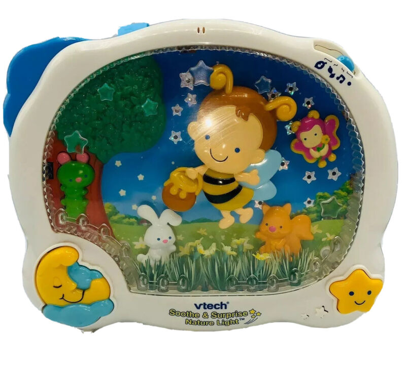 VTech Soothe & Surprise Nature Light Crib Toy 👶