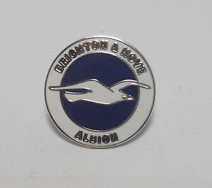 BRIGHTON & HOVE ALBION FC -  ENAMEL CREST BADGE.