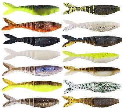 Gary Yamamoto Zako Swimbait 4   10 Cm  6 Pack Soft Body Paddletail Bass Swimbait