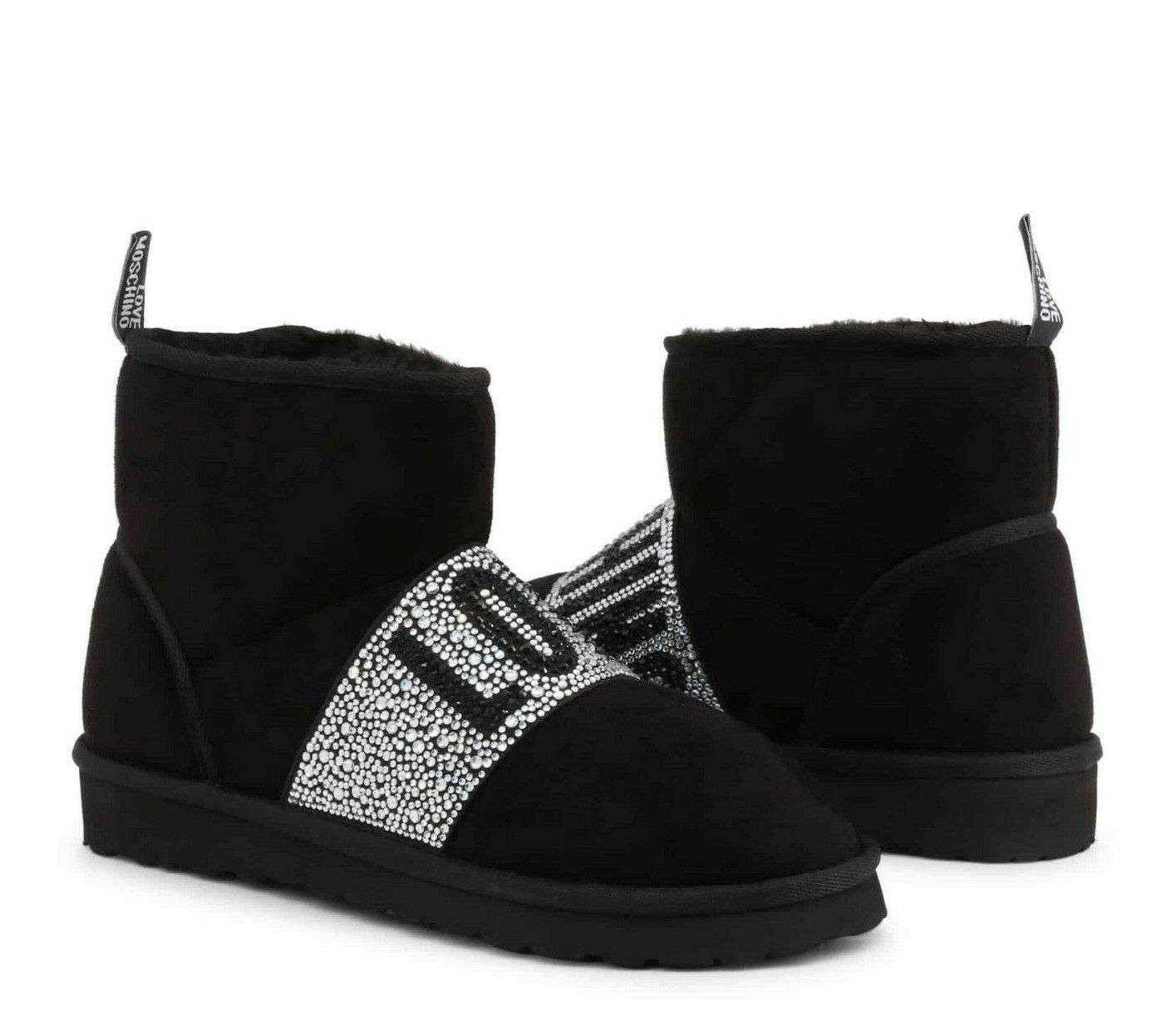 LOVE MOSCHINO Women's Ankle Boots Slip