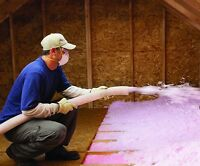 Insulation and Spray Foam services