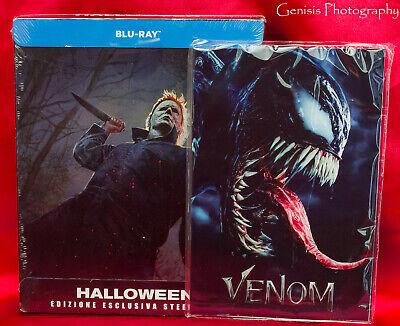 Halloween Limited Edition Steelbook (2018) (Blu-ray) Region Free + Art Cards - Halloween Steelbook Edition Blu Ray