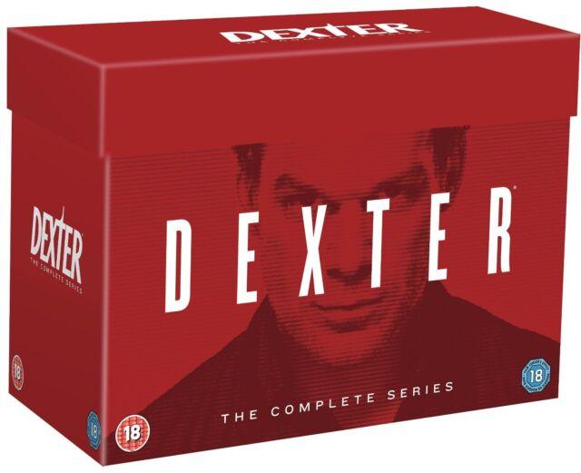 Dexter Complete Series Seasons 1 2 3 4 5 6 7 & 8 1-8 DVD box set Region 4 New