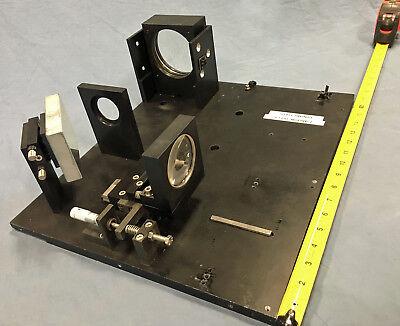 14x16 Lab Bench Mountable Gimbal Optical Laser Mirrorlens Mountfixture Optic