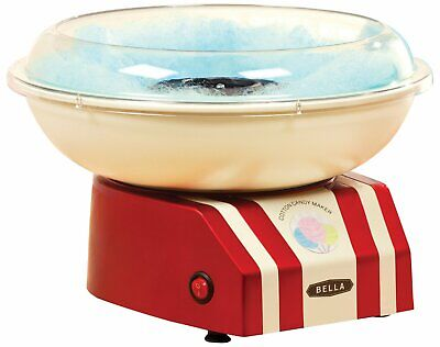BELLA 13572 Cotton Candy Maker, Red and White