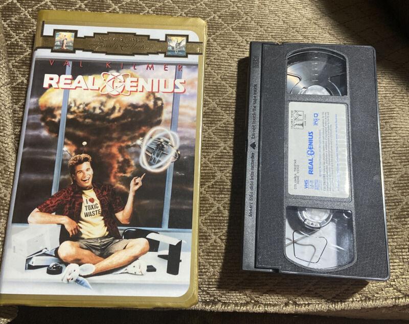 Real Genius (VHS, 1996, Clamshell Packaging)