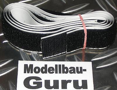 Super Klettband Akku Lipo 20 mm je 50cm Wettbewerbserprobt Grundpreis 2,99€/m