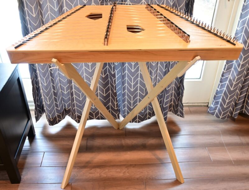 Songbird Chickadee Hammered Dulcimer w/ Stand, Case and Extras, Excellent Shape