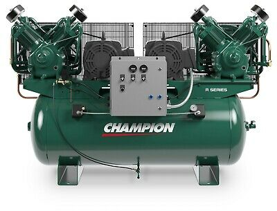The Best 7.5hp Duplex Single Phase 230 Volt 51.6 Cfm Air Compressor R30d Pumps