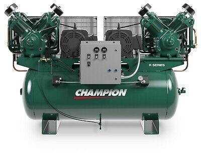 The Best 7.5hp Duplex Single Phase 230 Volt 51.6 Cfm Air Compressor R30d Pumps