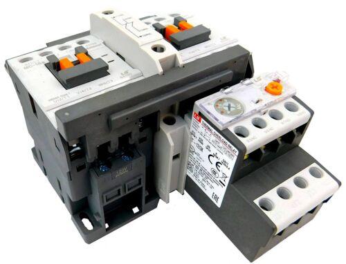 LSis Reversing Motor Starter 7.5HP @ 480V, 9-13 Amp Overload 120V Coil UL