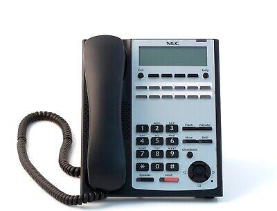 Nec Sl1100 Phone Ip4ww-12txh-b-tel Bk 1100061 Black Refurb -90 Day Warranty-