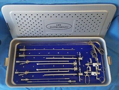 Ethicon Gynecare Versapoint Bipolar Electrosurgery System Instrument Set