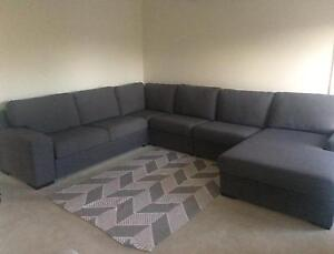 5 seater chaise Newtown Geelong City Preview