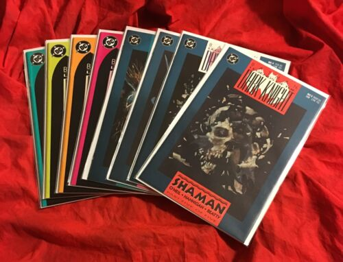 BATMAN LEGENDS OF THE DARK KNIGHT #1,2,3,4,5 Set COMPLETE STORY SHAMAN+VARIANTS