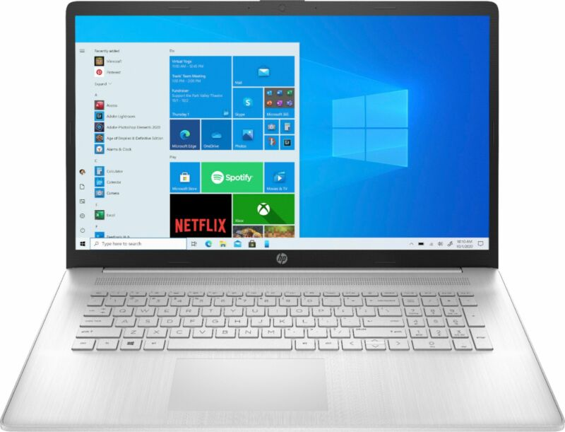 "HP - 17.3"" Laptop - Intel Core i3 - 8GB Memory - 1TB HDD - Natural Silver"