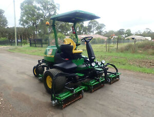 2013 JOHN DEERE 8700 PRECISION CUT RIDE ON FAIRWAY CYLINDER REEL GREENS GOLF COURSE LAWN MOWER TORO Austral Liverpool Area Preview