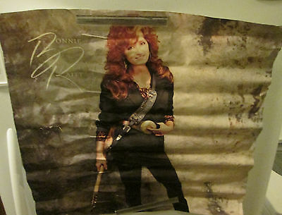 BONNIE RAITT POSTER ROCK 1989 RECORD STORE PROMO COLLECTABLE DISPLAY
