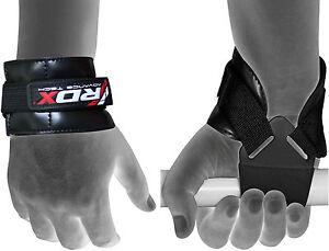 RDX-Weight-Lifting-Reverse-Grips-Training-Gym-Straps-Gloves-Wrist-Support-Bar-PR