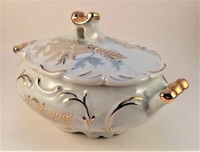 Norcrest Fine China B-163  50th Anniversary Trinket Commemorative Collectible