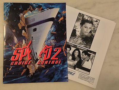 SPEED 2 : CRUISE CONTROL (1997) Press Kit Folder, Photos; Sandra -