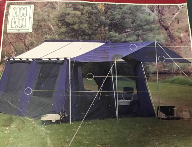 New 8 Person Stockman Weekender Wimmera Tent | C&ing u0026 Hiking | Gumtree Australia Moreland Area - Coburg North | 1206474539 & New 8 Person Stockman Weekender Wimmera Tent | Camping u0026 Hiking ...