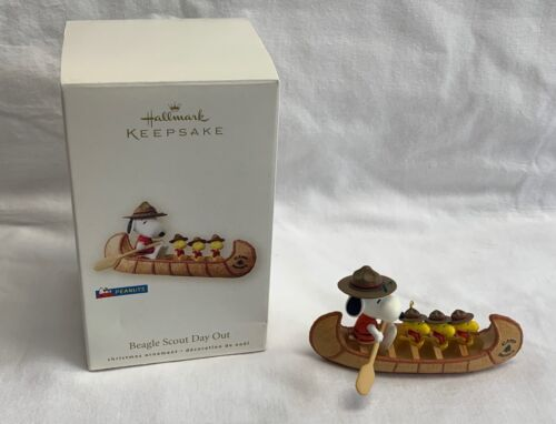 Hallmark Keepsake Beagle Scout Day Out Peanuts Ornament 2008