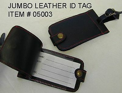 Jumbo Leather tags/Luggage tags, good quality, lowest price!!!