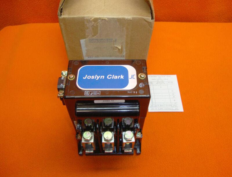NEW Joslyn Clark Size 3 Motor Contactor 5003A3001-21 Starter 5003A-3001-21