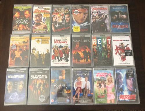 Sony PSP UMD Movie Bundle - 18 Brand New Sealed Movies