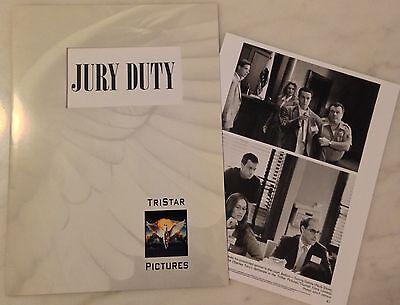 Jury Duty  1995  Press Kit Folder  Photos  Pauly Shore  Tia Carrere